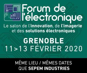 Omega Composants exposera au Forum de l'Electronique à Grenoble du 11 au 13 février