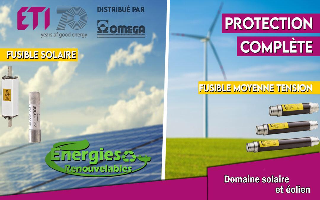 ETI: La gamme de protection des installations du domaine de l'énergie renouvelable
