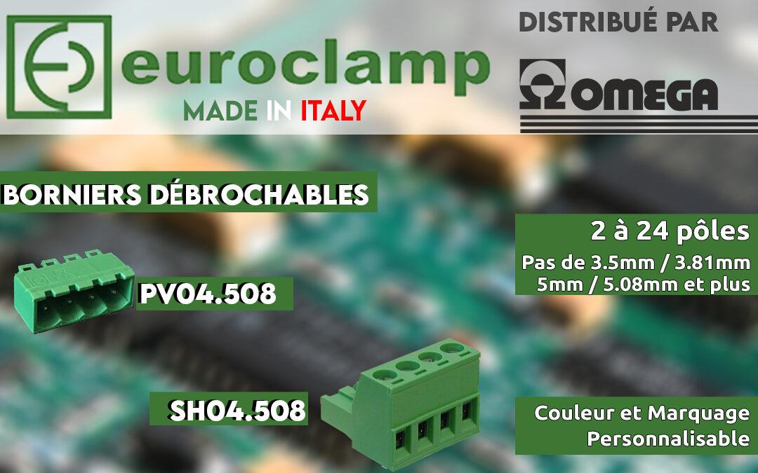Euroclamp : Borniers Débrochable