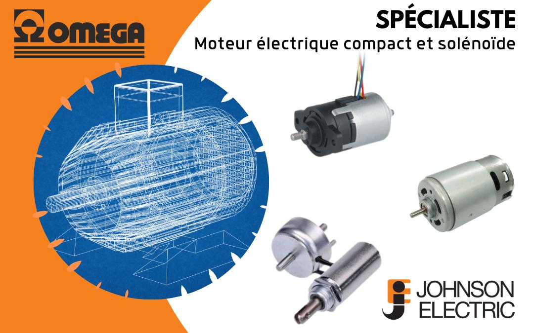 Johnson Electric spécialiste moteur électrique compact et solénoïde