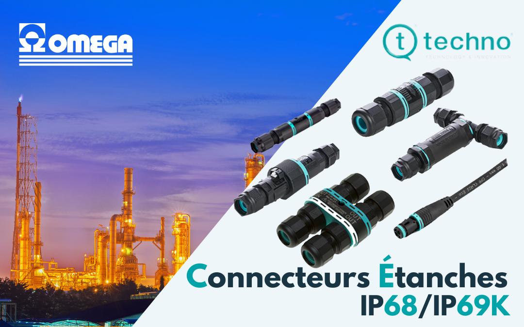 Connecteurs Étanches IP68, Techno spécialiste connecteurs étanches 12V, 24V