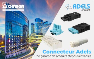 Connecteur Adels Contact, spécialiste luminaire, composants électroniques