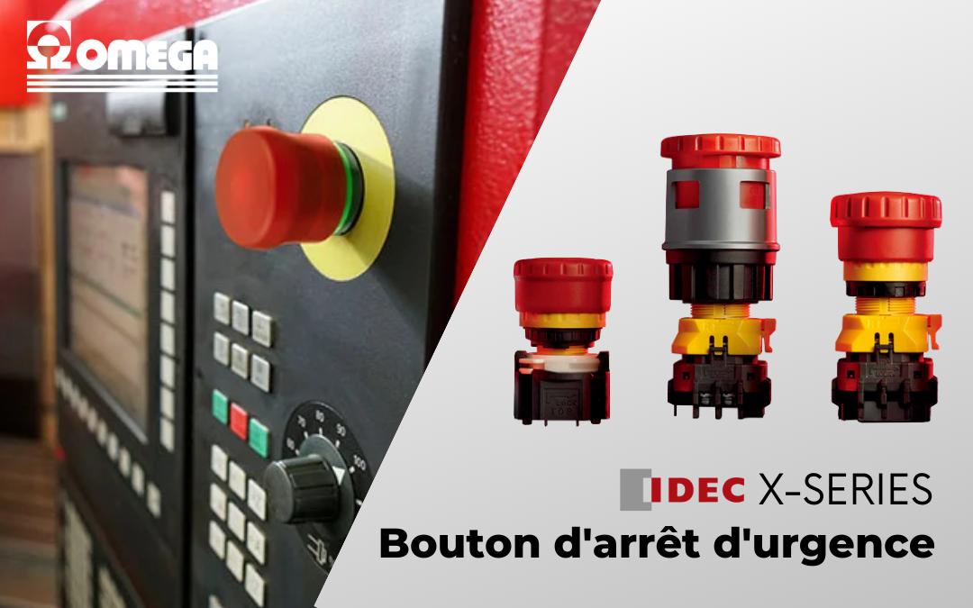 Bouton d'arrêt d'urgence IDEC